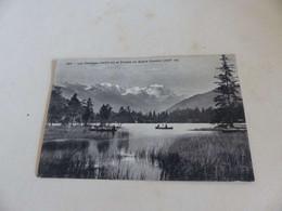 1299 - CPA , SUISSE ,Lac Champex Et Chaîne Du Grand Combin - VS Valais