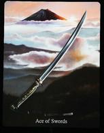 Ace Of Swords - Japonese Feudal Samouraï - A Divination & Meditation Tarot Card - Tarots
