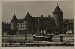 Suisse (VD) Carte Photo Morges // L' Arsenal (Bateau) 19?? - VD Vaud