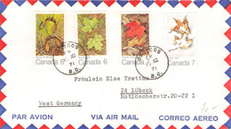 CANADA - AIRMAIL 1971 OSOYOOS > LÜBECK/GERMANY /AA167 - Cartas