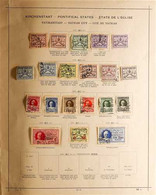 """EUROPE COUNTRIES COLLECTION IN A 1941 SCHAUBEK ALBUM  An 1850's To About 1940 Mint And Used Collection For """"R"""" To """"W"""" Co - Unclassified"""