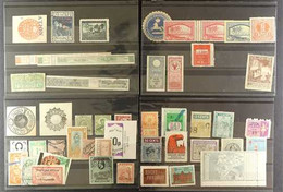 WORLDWIDE PHILATELIC CURIOSITIES  All Periods Mint & Used Stamps On Stock Cards, Includes Various 'back Of The Book' Iss - Unclassified
