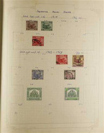 BRITISH COMMONWEALTH  An Interesting Collection Of Stamps & Covers In An Album With A Mixed Mint & Used Malaysia Collect - Unclassified