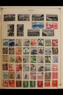 WORLD WAR II  ERA - WORLD COLLECTION  Presented In A Scott International Album For The 1940 To 1946 Worldwide Issues, Ma - Unclassified