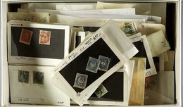 NORTHERN EUROPEAN COUNTRIES HOARD  All Periods Used Hoard In Packets & Envelopes, Heavily Duplicates In Places Incl Bund - Unclassified