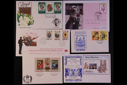 ROYAL EVENT COVERS  British Commonwealth 1981-2006 Illustrated First Day Covers (these Mostly Unaddressed) And Which Inc - Unclassified