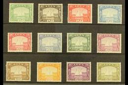 "1937  ""Dhow"" Set Complete, SG 1/12, Very Fine Mint (12 Stamps) For More Images, Please Visit Http://www.sandafayre.com/i - Aden (1854-1963)"