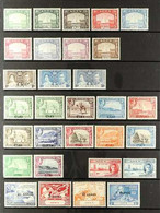1937-1963 FINE MINT COLLECTION.  An ALL DIFFERENT Collection Presented On A Pair Of Stock Pages That Includes1937 Dhow  - Aden (1854-1963)