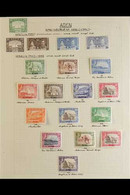 1937-1963 LOVELY MINT & NHM COLLECTION.  An Attractive Collection With Many Values Being Marginal Examples And Stamps Ar - Aden (1854-1963)
