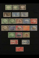 1937-63 MINT COLLECTION  ALL DIFFERENT, On Stock Pages, Includes 1939-48 Set To 5r, 1951 Surcharged Set To 5s On 5r, 195 - Aden (1854-1963)