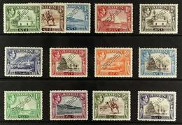 "1939-48  Complete Pictorial Definitive Set Perf ""SPECIMEN"", SG 16s/27s, Never Hinged Mint. (13 Stamps) For More Images,  - Aden (1854-1963)"