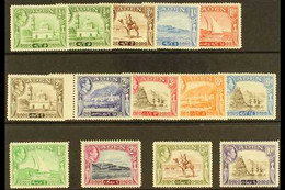 1939-48  Definitive Set Plus ½a Shade, SG 16/27, Very Fine Mint (14 Stamps) For More Images, Please Visit Http://www.san - Aden (1854-1963)