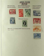 SEIYUN  1942 - 1966 FINE MINT COLLECTION Presented On Album Pages, ALL DIFFERENT With A Good Selection Of Complete Sets. - Aden (1854-1963)