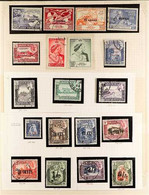 SEIYUN  1942 - 1964 An Attractive & Complete Collection Presented On Album Pages, SG 1-41, Superb Cds Used. (41 Stamps)  - Aden (1854-1963)