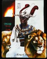King Of Staves - Osiris Maat Osirian Myth - A Divination & Meditation Tarot Card - Tarots
