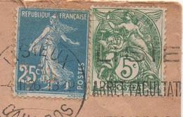 Enveloppe De Lisieux, Calvados (14), De 1926, Flamme KRAG  à Texte, Timbre N° 140 Perforé L W - Perfins