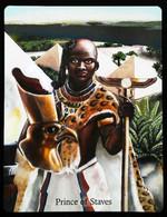 Prince Of Staves - Osiris Maat Osirian Myth - A Divination & Meditation Tarot Card - Tarots