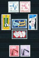 Cuba Nº A-212/... Nuevo** Cat.16,95€ - Luftpost