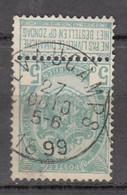 N° 56 OBLITERATION  QUEVAUCAMPS - 1893-1907 Stemmi