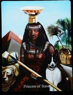 Princess Of Staves - Osiris Maat Osirian Myth - A Divination & Meditation Tarot Card - Tarots