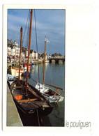 LE POULIGUEN -- 1995 -- Le Port Et Les Quais .........(bateau  SN)...............à Saisir - Le Pouliguen