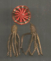 Insigne , Cocarde , Militaria , 65 X 25 Mm , Fontanel , Lyon , 2 Scans - Badges & Ribbons