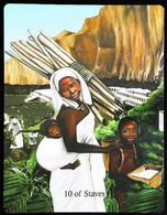 10 Of Staves - Osiris Maat Osirian Myth - A Divination & Meditation Tarot Card - Tarots