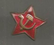 Insigne ,  Militaria , CCCP ,URSS ,militaria , 2 Scans - Badges & Ribbons