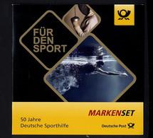 Bund, MH 106 Postfrisch, 3307-3309 - Sporthilfe - Booklets