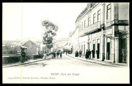 OVAR - Rua Da Graça. ( Ed. Alberto Ferreira Nº 263/4)  Carte Postale - Aveiro