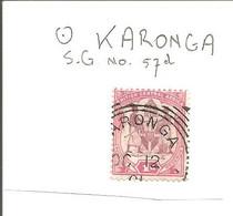 British Central Afrika. 1d S.G.57d With KARONGA - Otros