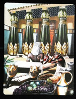 4 Of Staves - Osiris Maat Osirian Myth - A Divination & Meditation Tarot Maxi Card - Tarots