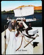 3 Of Staves - Osiris Maat Osirian Myth - A Divination & Meditation Tarot Maxi Card - Tarots