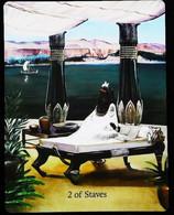 2 Of Staves - Osiris Maat Osirian Myth - A Divination & Meditation Tarot Maxi Card - Tarots