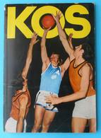 KOS - KOLOYS (1970) 1st Album ... Slovenia Ex Yugoslavia Old Basketball Album Kolinska Koloy's Ljubljana * Basket-ball - Zonder Classificatie