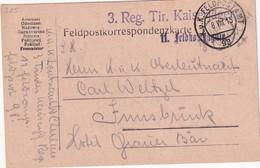 AUTRICHE 1915 CARTE EN FELDPOST - 1850-1918 Imperium