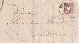 AUTRICHE 1860 LETTRE DE FIUME - 1850-1918 Imperium