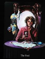 The Fool Joker Mirrror  - A Divination & Meditation Tarot Maxi Card - Tarots