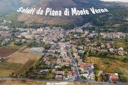 (CE) PIANA DI MONTE VERNA, PANORAMA - Cartolina Nuova, Saluti - Other Cities