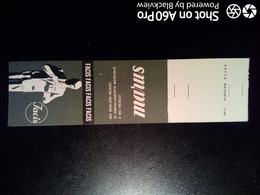 SCATOLA X FIAMMIFERI - MINERVA SAFFA ANNI 50-60 PUBBLICITÀ ABBIGLIAMENTO FACIS - Matchboxes