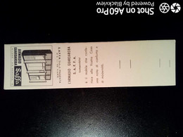 SCATOLA X FIAMMIFERI - MINERVA SAFFA ANNI 50-60 PUBBLICITÀ ARMADIO GUARDAROBA SAFFA - Matchboxes