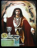 The Magician  -- A Divination & Meditation Tarot Maxi Card - Tarots