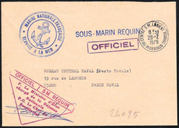 Francia/France: Franchigia, Exemption, Franchise, Sottomarino Requin, Requin Submarine, Sous-marin Requin - U-Boote