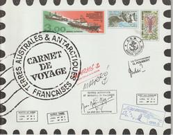 TAAF Carnet De Voyage 1999 Contenant Série 248-59 ** MNH - Carnets