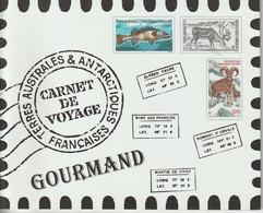 TAAF Carnet De Voyage 2003 Contenant Série 372-83 ** MNH - Carnets