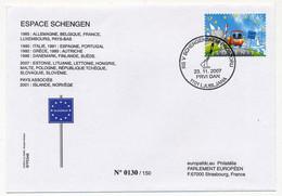 SLOVAQUIE - Entrée De La Slovaquie Dans L'Espace Schengen - 23/11/2007 - Slowenien