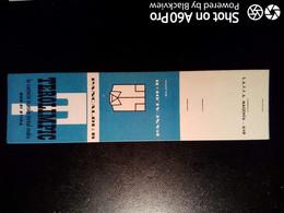 SCATOLA X FIAMMIFERI - MINERVA SAFFA ANNI 50-60 PUBBLICITÀ CAMICIE TEROLIMPIC DI PANCALDI & B. BOLOGNA - Matchboxes