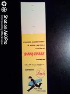 SCATOLA X FIAMMIFERI - MINERVA SAFFA ANNI 50-60 PUBBLICITÀ CONFEZIONI FACIS - Matchboxes