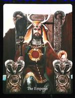 The Emperor - Arthur Legend - Arthurian Britian Myth - A Divination & Meditation Tarot Maxi Card - Tarots