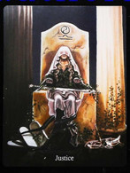 Justice - Arthur Legend - Arthurian Britian Myth - A Divination & Meditation Tarot Maxi Card - Tarots